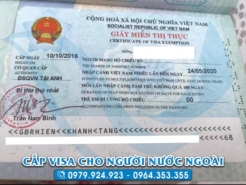 Việt Nam miễn Visa cho bao nhiêu nước