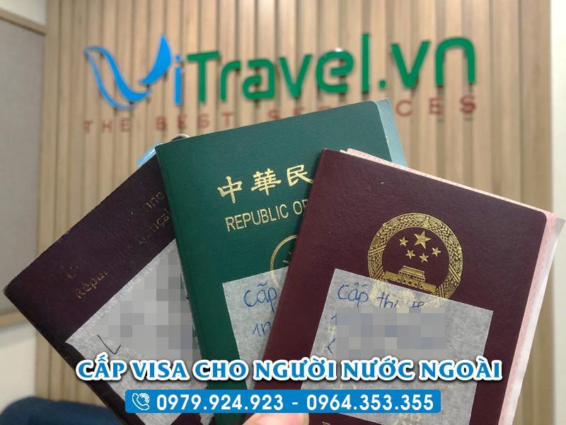Thủ tục xin visa du lịch cho người nước ngoài tại Việt Nam 2020