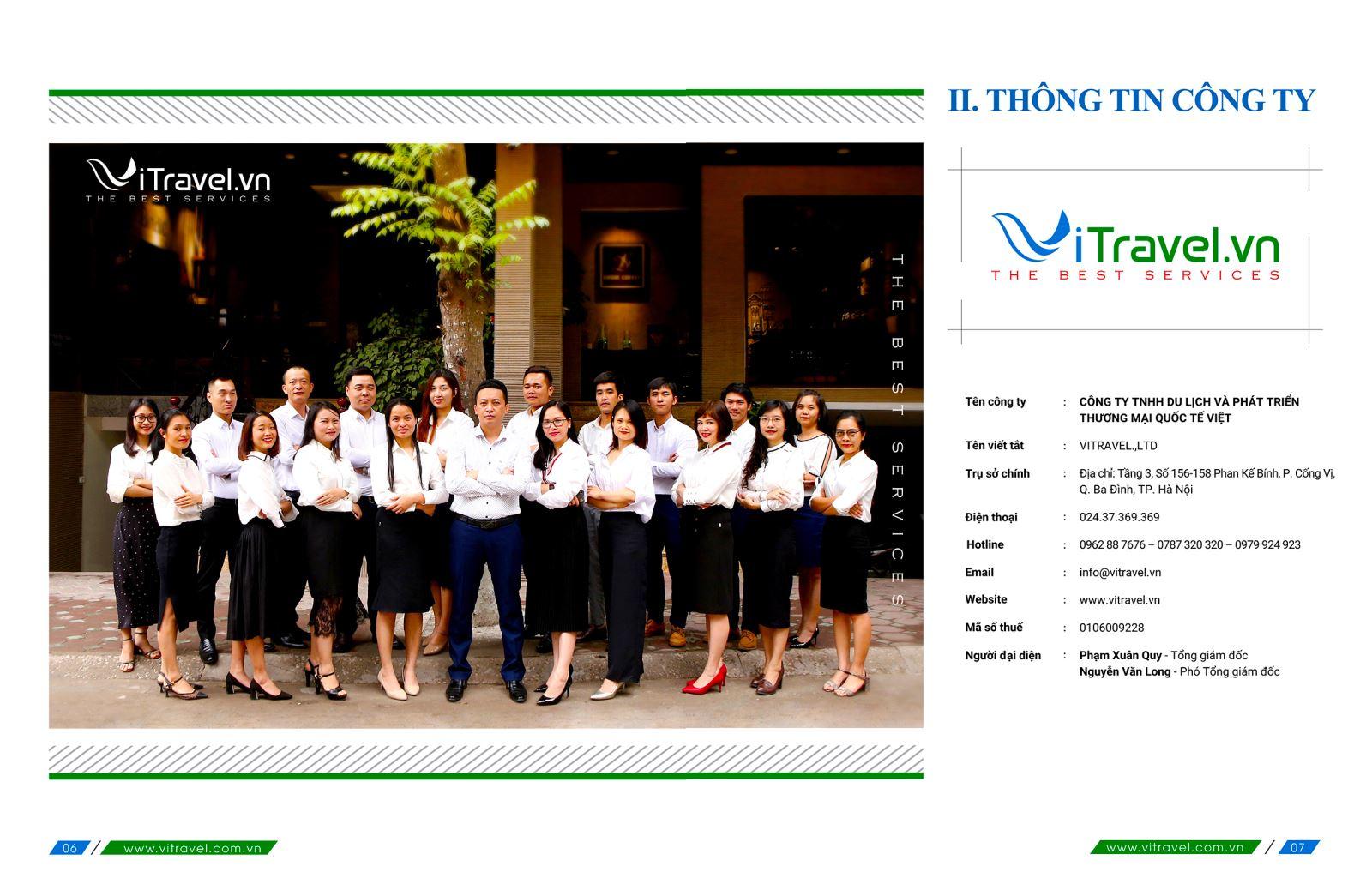 Nhà tổ chức Tour du lịch nội địa và quốc tế uy tín hàng đầu Việt Nam
